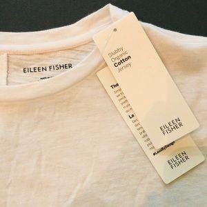 EILEEN FISHER Organic-Cotton Elbow-Sleeve